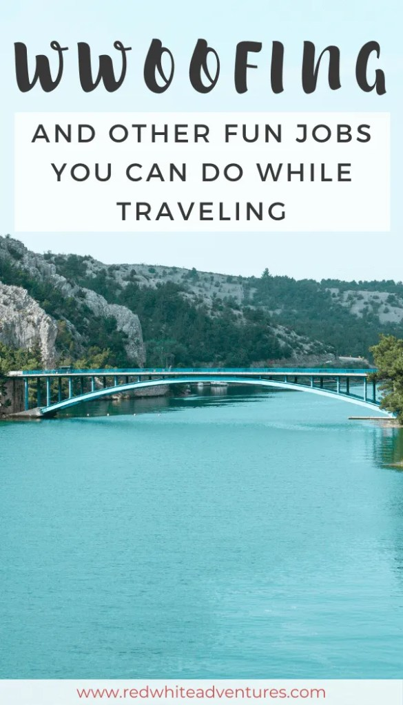 WWOOFING and other fun jobs you can do while traveling