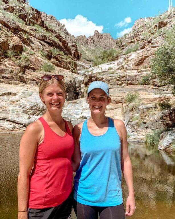 Beautiful 7 falls hike in tucson, Arizona.
