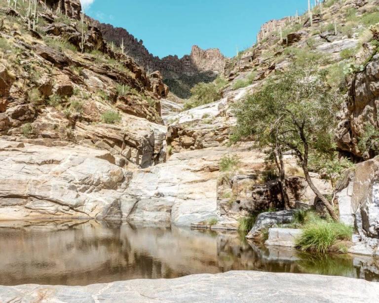 Hiking in Tucson Arizona.