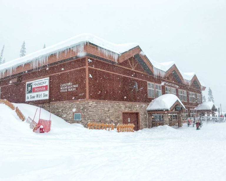 Big White Ski Resort.