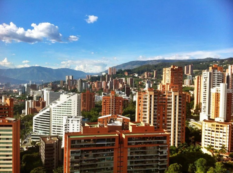 Medellin, Colombia is becoming a digital nomad hotspot.