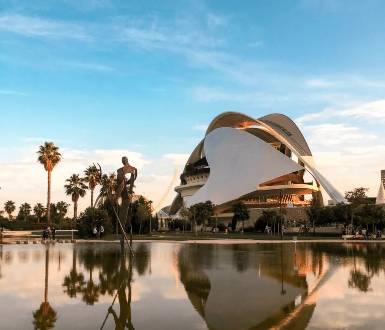 Beautiful building in Valencia, Spain.