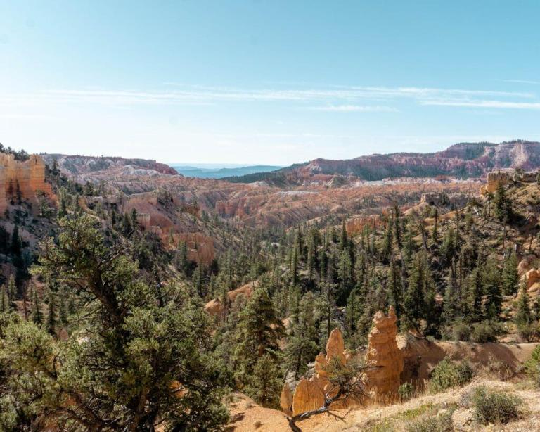 Camping in Bryce Canyon.