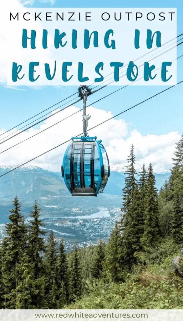 Amazing view of a gondola in Revelstoke