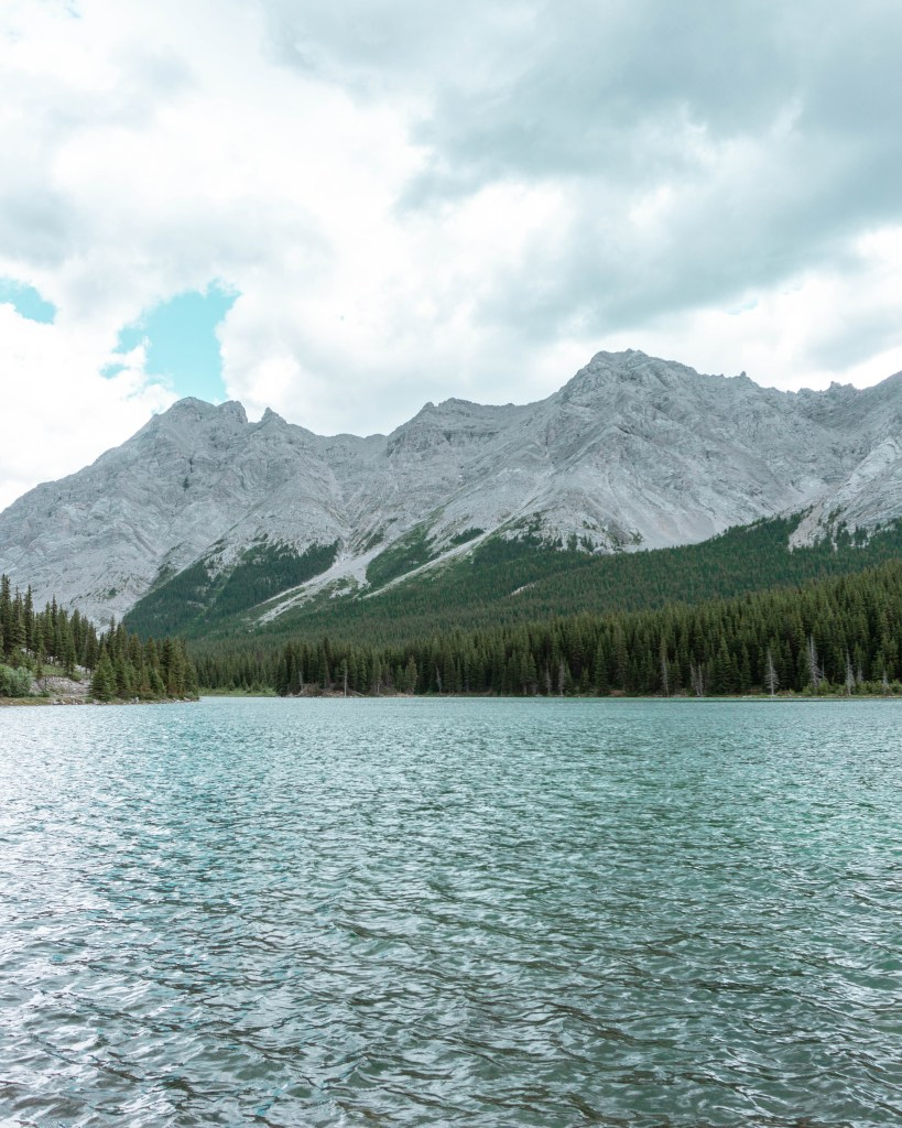 Views of Elbow Lake in Kananaskis