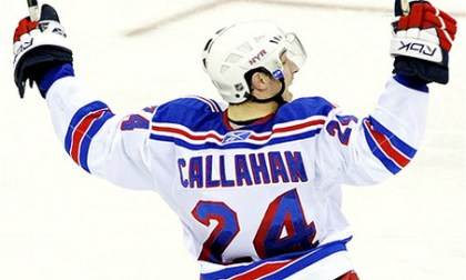 Ryan Callahan Signs 2 Year 4.6 Miilion Dollar Contract