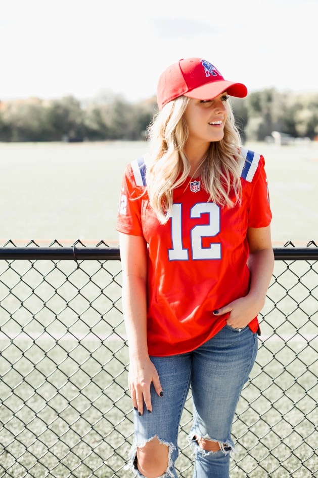 How To Style A Patriots Jersey
