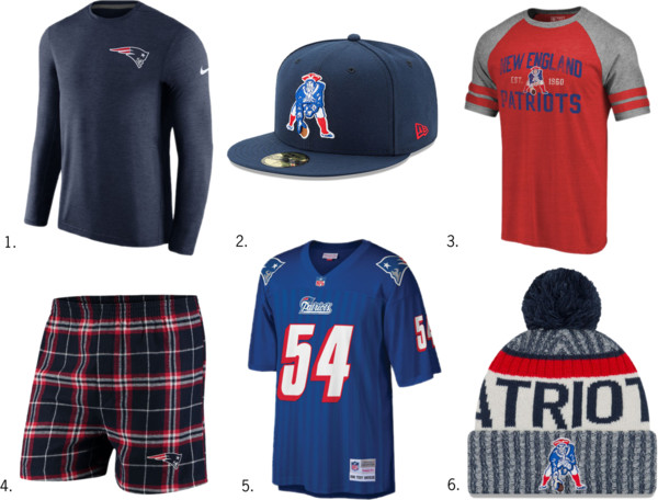 New England Patriots NFL Gear for Him