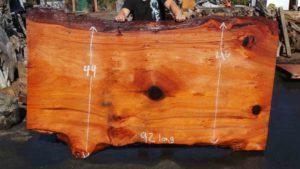Rustic Dining Table Slab | Old Growth Redwood Slab