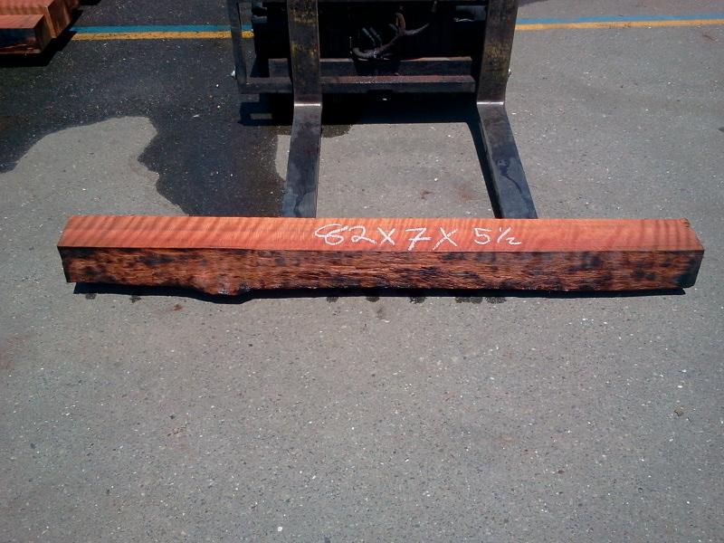 Rustic Fireplace Mantel Shelf - Redwood Live Edge Wood Beam