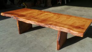 Rustic Old Growth Redwood Table