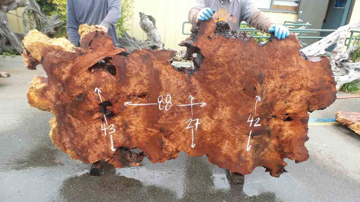 Real Natural Wooden Art Home Decoration from Redwood