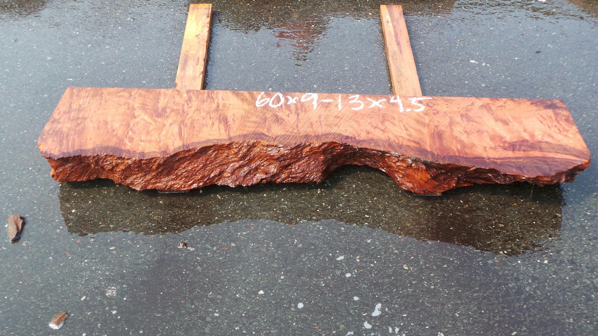 Rustic Wood Mantel Shelf