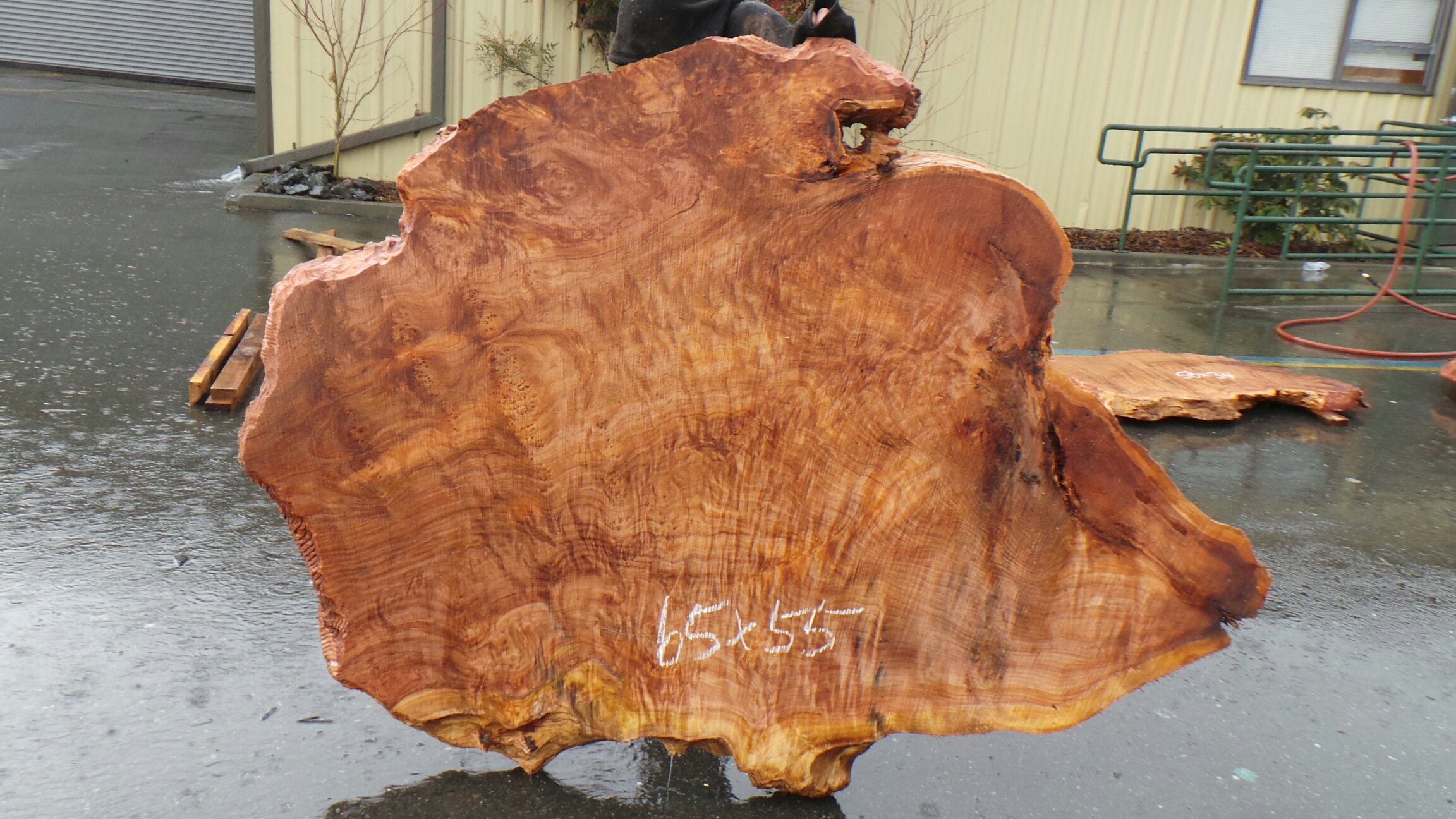 Live Slab Coffee Table - New Growth Redwood Kitchen Tables