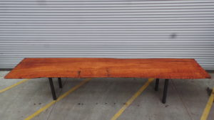 Salvaged Redwood Benches - Custom Made