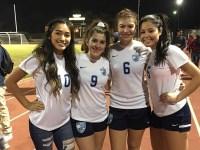 Rangers' Girls Soccer Senior Night