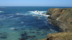 The seascape at Mendocino