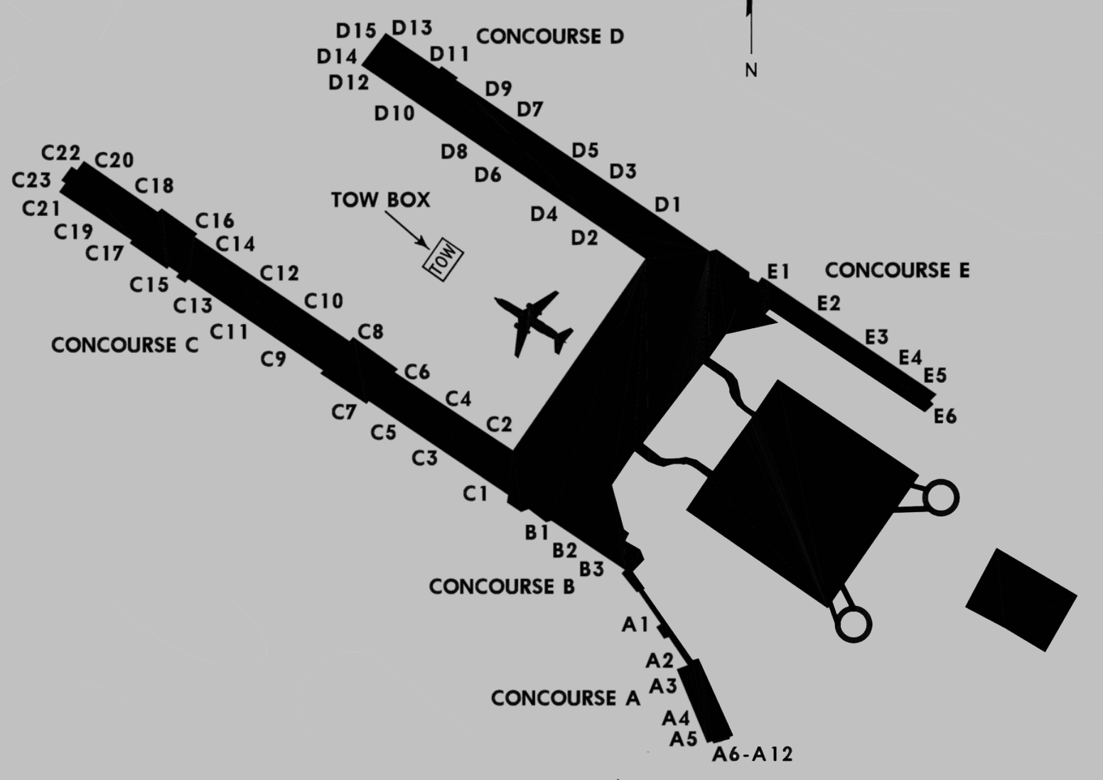 Click For A Satellite View Of The Airport