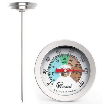 KT Thermo Worm Soil Thermometer redwormfarms.com