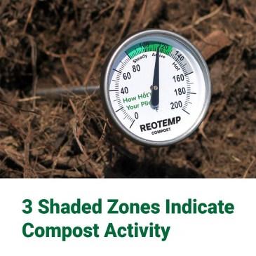 REOTEMP Backyard Compost Thermometer - redwormfarms.com