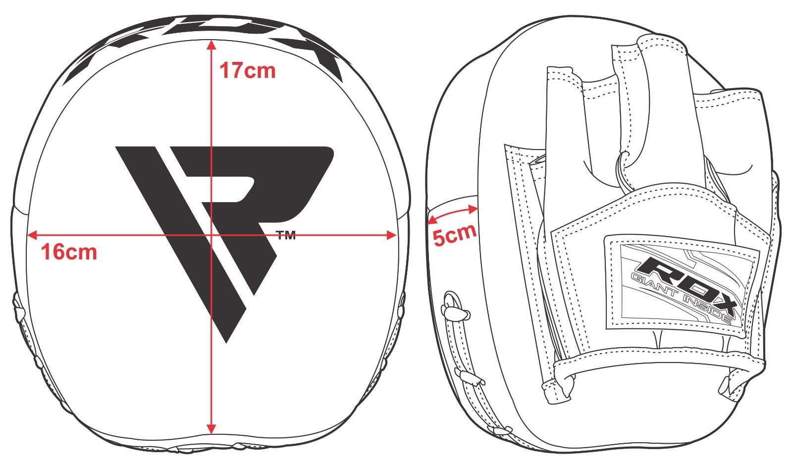 Focus Pad Smarty Rex White Redxdirect