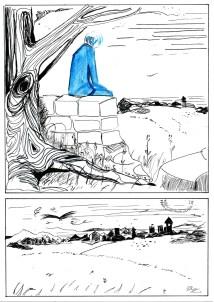 Lance comic chapter 2 page 1. by Rebekah.j