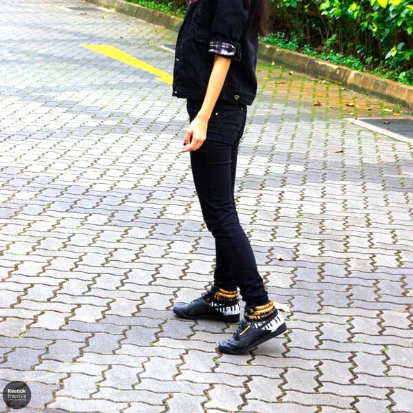 Clara Liew Singapore Style Reebok Freestyle Alicia Keys