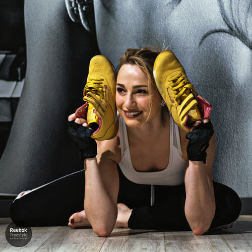 María Lorincikova Reebok Freestyle Fa Club