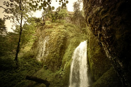 Wahkeena Falls #7 (Antique)