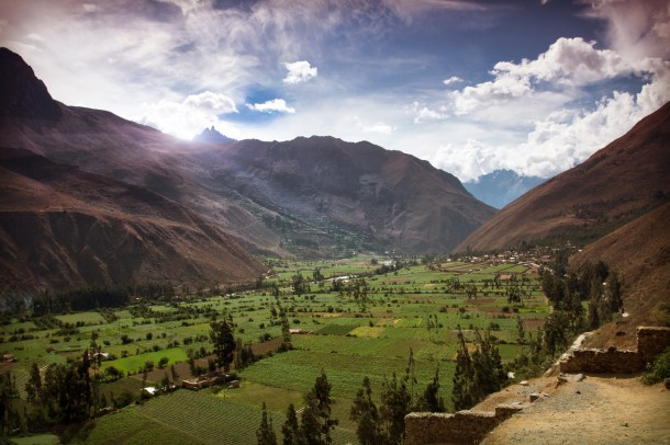 Pisac Valley View