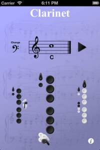 6 best music apps, reedit, fingerings, clarinet fingerings, fingering charts