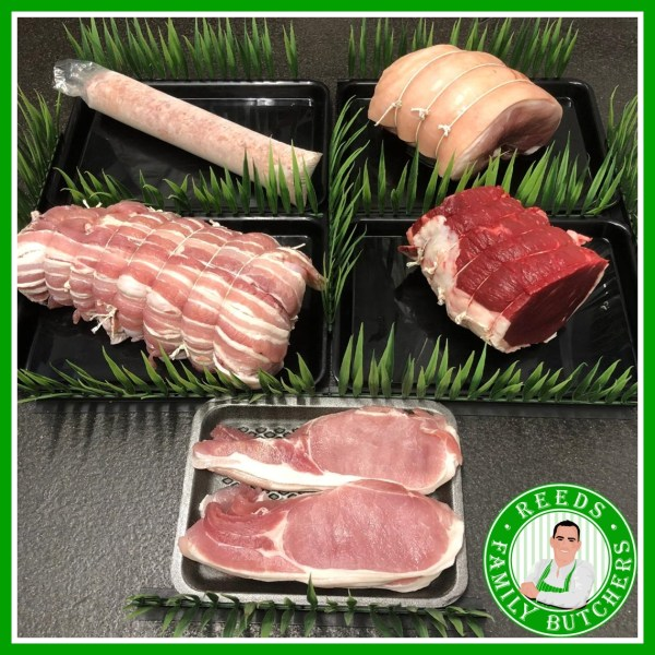 Christmas Hamper Meat Pack