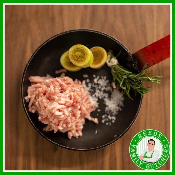 Buy Pork Mince x 500g online from Reeds Family Butchers