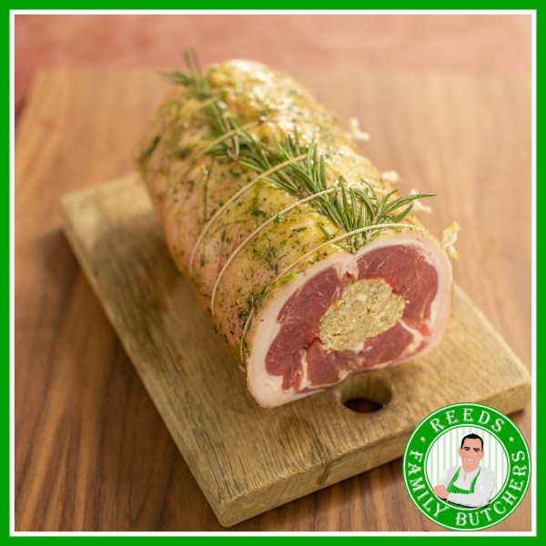 Buy Stuffed Lamb Loin x 1 online from Reeds Family Butchers