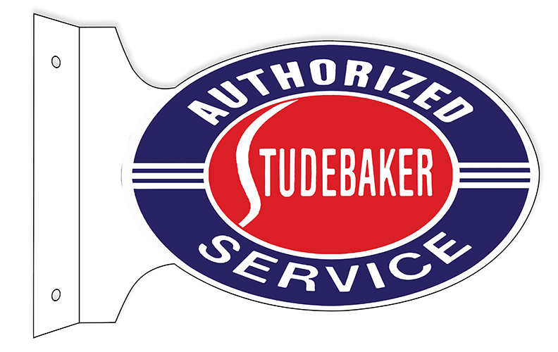 Reproduction Authorized Studebaker Sign