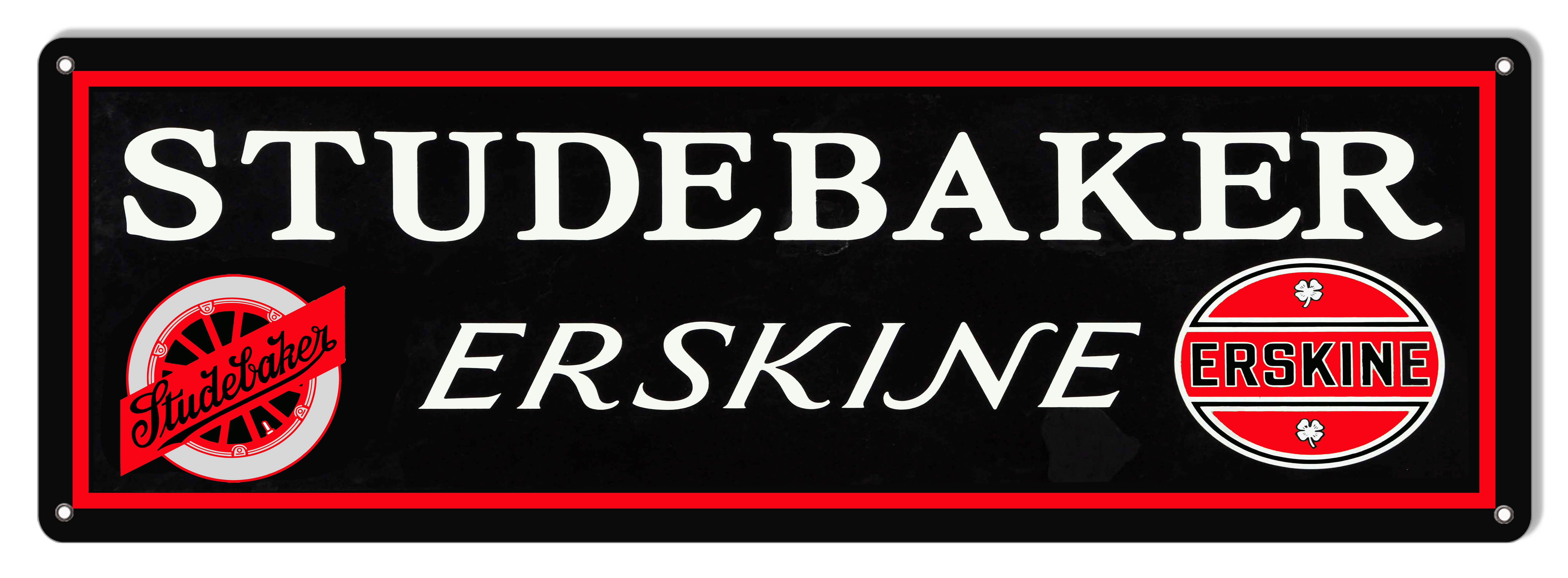 Studebaker Erskine Car Large Motor Oil Garage Art Sign 8x24 Reproductions
