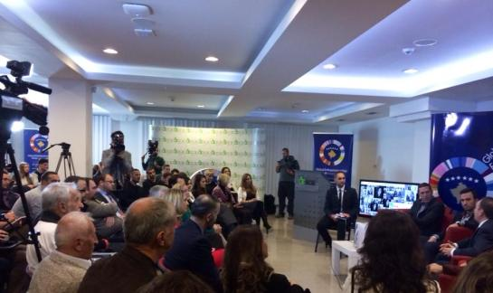 Panel presented to a group of Students in American University of Kosova.