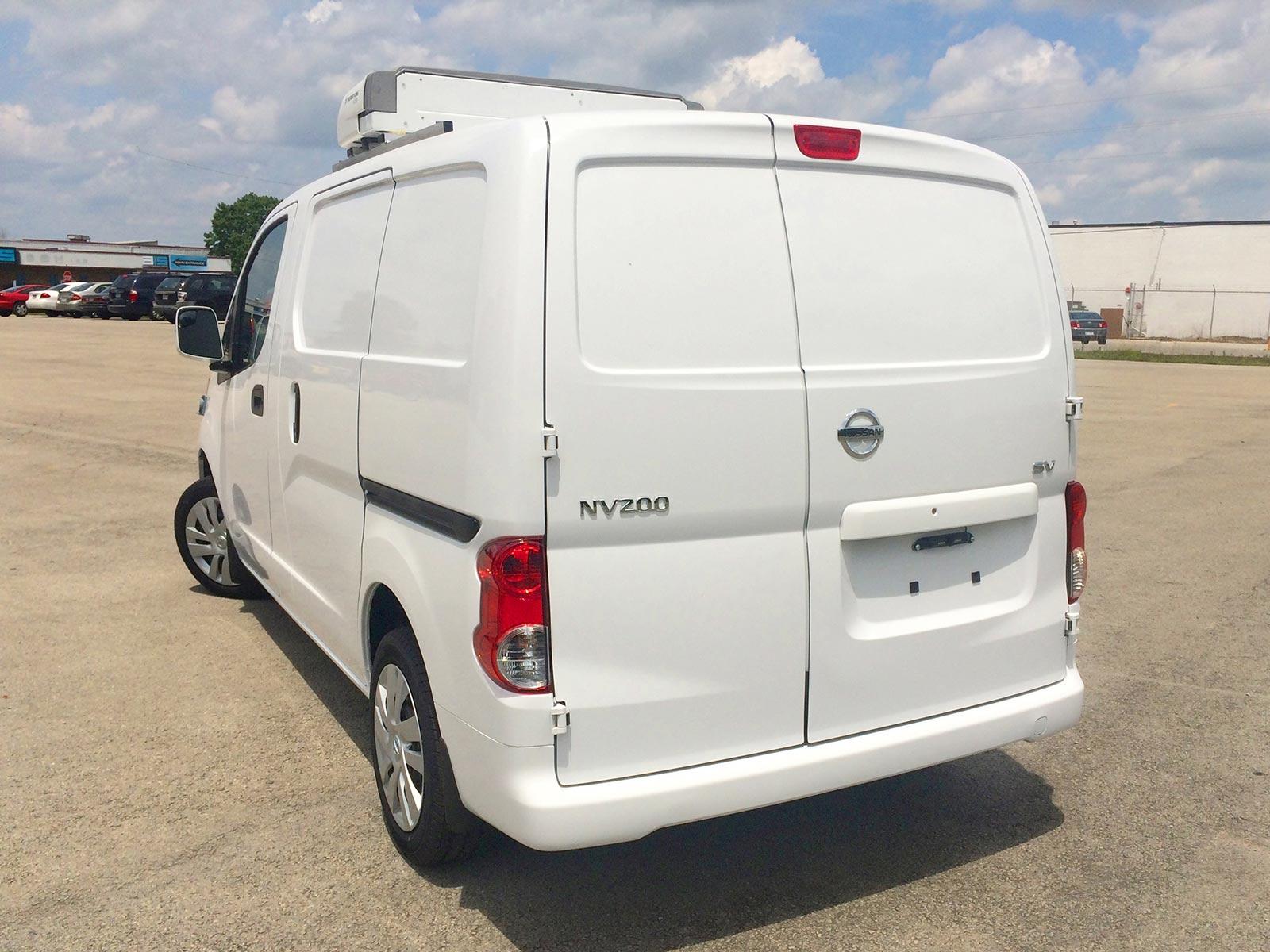 Refrigerated Vans Models Nissan Nv200 Bush Trucks
