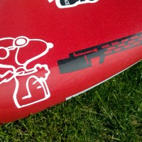 """The Red Barron"" Windsurf Foil,  A Board Room Project."