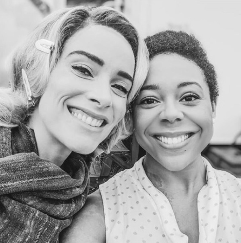 Photo of Tamara Austin (Right) and Abigail Spencer (Left)