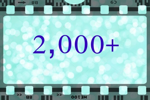2000+:banner in style of film strip