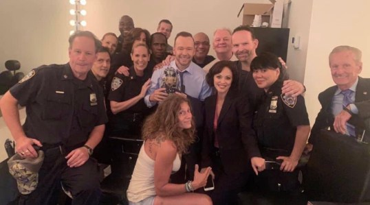 "The Blue Bloods ""Family"". Onset photo"