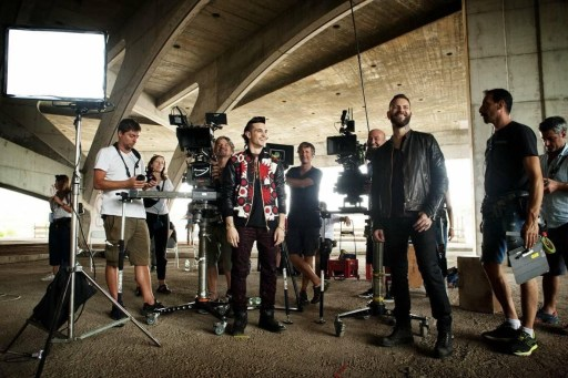 Behind the scenes of Suburra: Blood on Rome with Alessandro Borghi, Giacomo Ferrera and crew