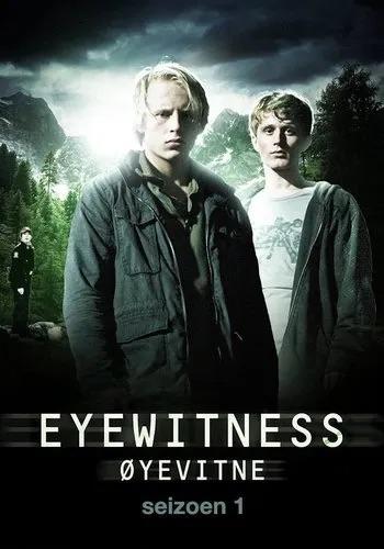 Theatrical poster for Eyewitness (Øyevitne)