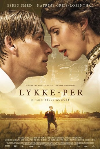 The Danish theatrical poster for A Fortunate Man (Lykke-Per)