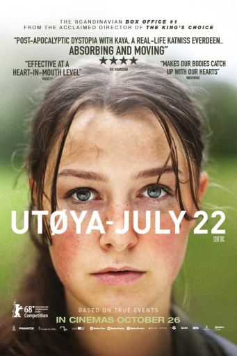 Theatrical poster for Utoya- July 22