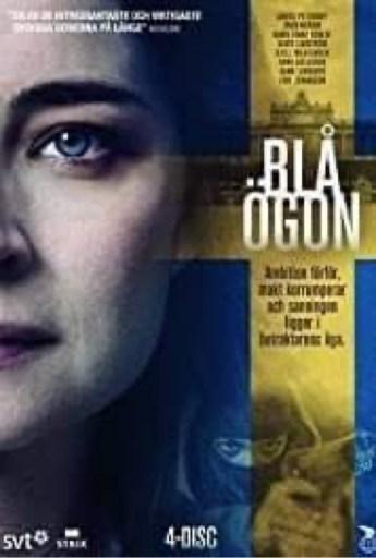 DVD cover for Blue Eyes (Blå Ögon)