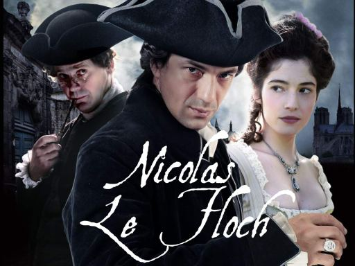 Image is the theatrical poster for the show Nicolas Le Floch