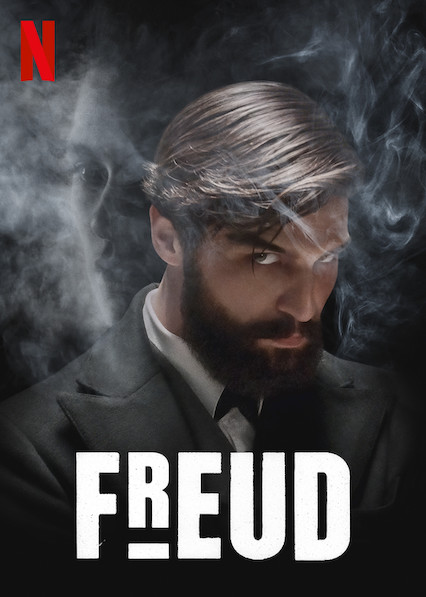 Theatrical poster for the show Freud on Netflix
