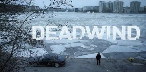 Poster for Deadwind season 2 showing Sakari Nurmi's BMW E31
